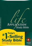 Book Cover Image. Title: NLT Life Application Study Bible:  New Living Translation, Author: Tyndale