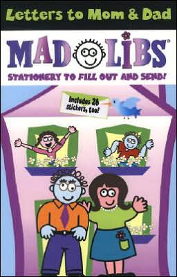 Letters to Mom and Dad (Mad Libs Series)