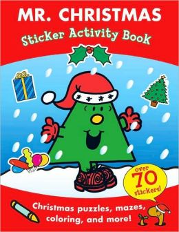 Mr. Christmas Sticker Activity Book (Mr. Men and Little Miss Series)