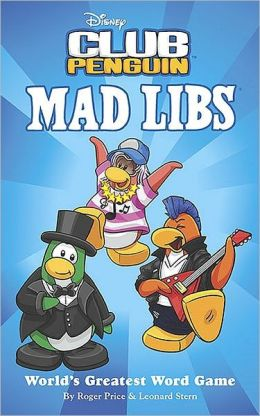 Disney Club Penguin Mad Libs