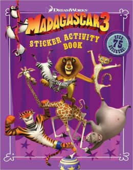 Madagascar 3: Sticker Activity Book