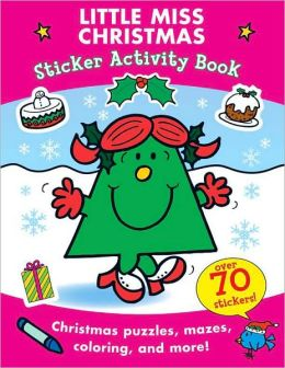 Little Miss Christmas Sticker Activity Book