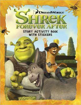 Shrek Forever After: Sticker Activity Book