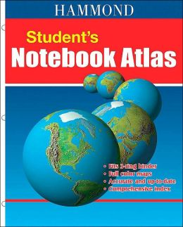 Hammond Student Notebook Atlas