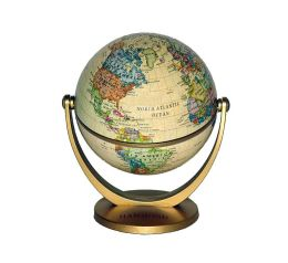 Antique Style Swivel and Tilt Mini Globe