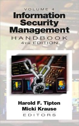 Information Security Management Handbook