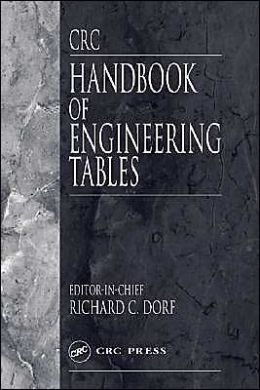 CRC Handbook of Engineering Tables