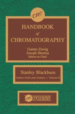 Handbook Chromatography Amino Acids and Amines