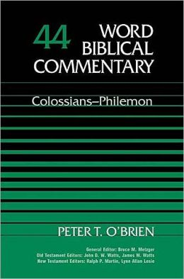 Colossians-Philemon