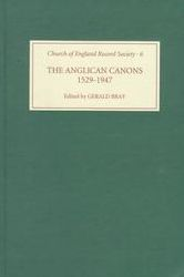 The Anglican Canons, 1529-1947