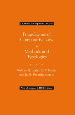 Foundations of Comparative Law: Methods and Typologies