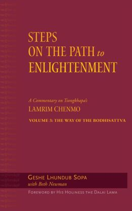 Steps on the Path to Enlightenment: The Way of the Bodhisattva: Volume 3