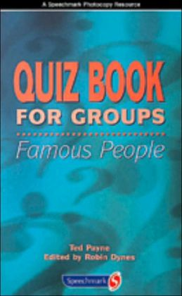 Quiz Book for Groups: Famous People