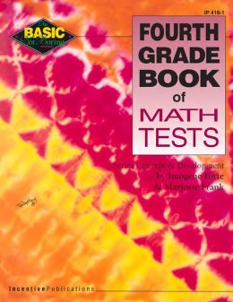 Fourth Grade Book of Math Tests