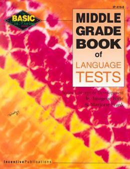 Middle Grade Book of Language Tests