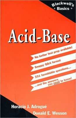 Acid-Base: Blackwell's Basics of Medicine