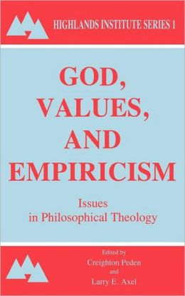 God, Values And Empircism