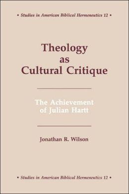 Theology As Cultural Critique