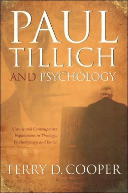 Paul Tillich And Psychology