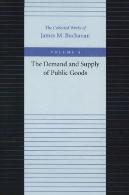 Demand and Supply of Public Goods