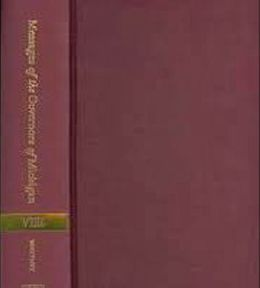 Messages of the Governors of Michigan, Volume VIII: 1961-1969
