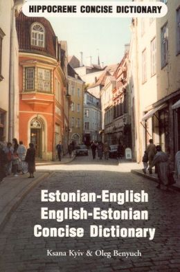 ESTONIAN-ENG/E-E CONC D >....