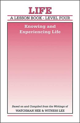 Lesson Book: Knowing and Experiencing Life