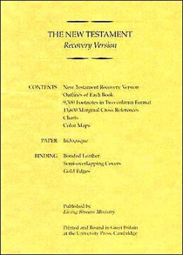 Recovery Version New Testament