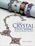 Book Cover Image. Title: Easy Crystal Stitching, Sophisticated Jewelry, Author: Nikia Angel