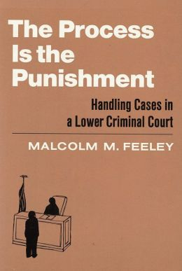 Process Is the Punishment : Handling Cases in a Lower Criminal Court: Handling Cases in a Lower Criminal Court