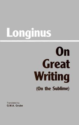 ON GREAT WRITING