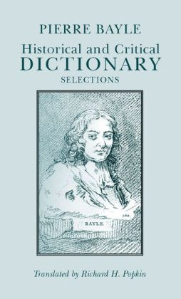 Historical and Critical Dictionary: Selections