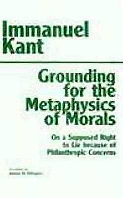 GROUNDING METAPHYSICS MORALS,3D