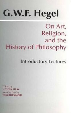On Art, Religion, and the History of Philosophy: Introductory Lectures