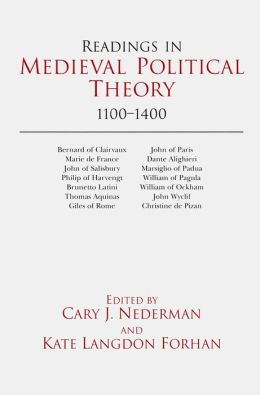 READINGS IN MEDIEVAL POLIT THEORY