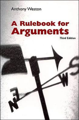 Rulebook for Arguments,3rd Edition