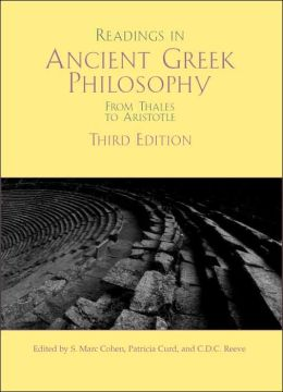 Readings in Ancient Greek Philosophy: From Thales to Aristotle