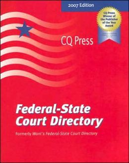 Federal-State Court Directory, 2007