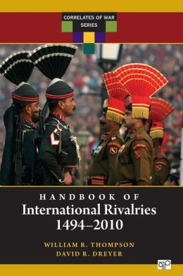 Handbook of International Rivalries