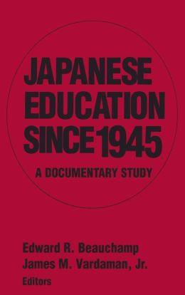 Japanese Education since 1945