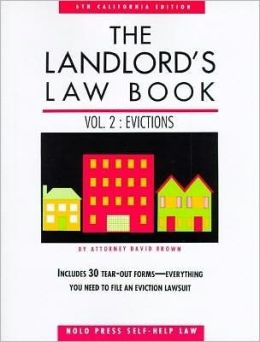 Landlord's Law Book: Evictions