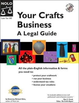 Your Crafts Business: A Legal Guide with Cd-Rom