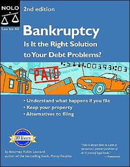 Bankruptcy: Is It the Right Solution to Your Debt Problems?