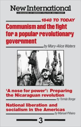 New International no 3: Communism and the Fight for a Popular Revolutionary Government