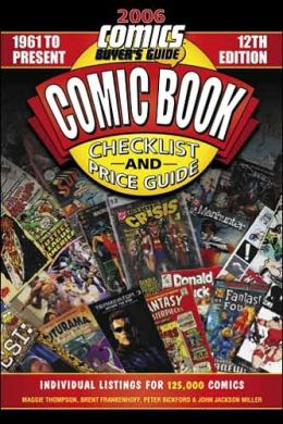 2006 Comic Book Checklist and Price Guide