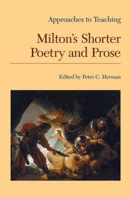 Milton's Shorter Poetry and Prose