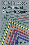 MLA Handbook for Writers of Research Papers, 6th Edition (Large Print)
