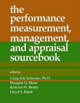 The Performance Measurement, Management, and Appraisal Sourcebook