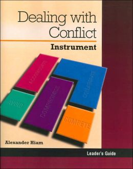 Dealing with Conflict: Instrument