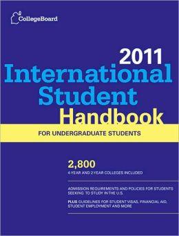 International Student Handbook 2011